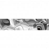 Välitilatarra Dimex Liquid Chrome Silver, 180-350x60cm