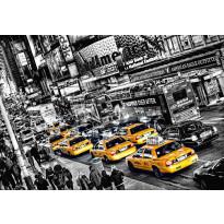 Valokuvatapetti 00116 Cabs Queue 8-osainen 366x254cm