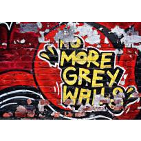 Valokuvatapetti 00126 No More Grey Walls 8-osainen 366x254cm