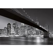 Valokuvatapetti 00140 Brooklyn Bridge NY 8-osainen 366x254 cm