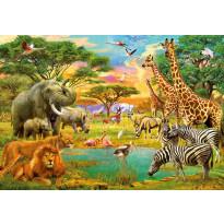 Valokuvatapetti 00154 African Animals 8-osainen 366x254 cm
