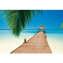 Valokuvatapetti 00284 Paradise Beach 8-osainen 366x254cm