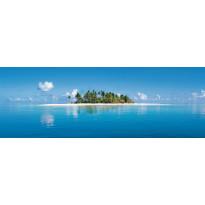 Valokuvatapetti 00369 Maldive Island 4-osainen 366x127cm