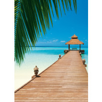 Valokuvatapetti 00376 Paradise Beach 4-osainen 183x254 cm