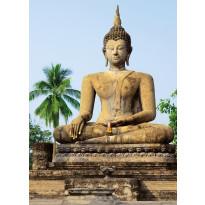 Valokuvatapetti 00378 Sukhothai Wat Sra Si Temple 4-osainen 183x254 cm