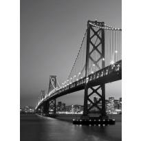 Valokuvatapetti 00387 San Fransisco Skyline 4-osainen 183x254 cm