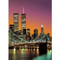 Valokuvatapetti 00389 New York City 4-osainen 183x254cm
