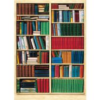 Valokuvatapetti 00401 Bibliothèque 4-osainen 183x254cm