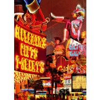 Valokuvatapetti 00435 Downtown Las Vegas 4-osainen 183x254cm