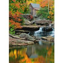 Valokuvatapetti 00437 Grist Mill 4-osainen 183x254cm