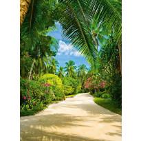 Valokuvatapetti 00438 Tropical Pathway 4-osainen 183x254cm