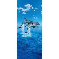 Ovitapetti 00599 Three Dolphins 86x200cm