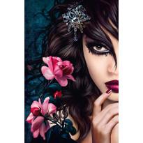 Juliste Giant Art 00637 Midnight Rose 115x175cm