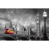 Juliste Giant Art 00697 Bus on Westminster Bridge 175x115 cm