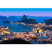 Valokuvatapetti 00951 Rio de Janeiro 8-osainen non-woven 366x254cm