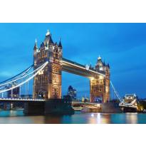 Valokuvatapetti 00959 Tower Bridge 8-osainen non-woven 366x254cm