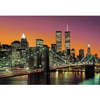 Valokuvatapetti 00960 New York City 8-osainen non-woven 366x254cm
