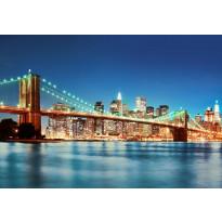 Valokuvatapetti 00961 New York East River 8-osainen non-woven 366x254cm