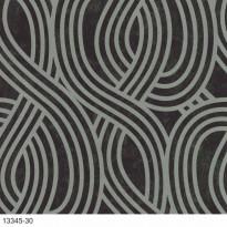 Tapetti AM-Walls Carat 13345-30 0,53 x 10,05 m, musta