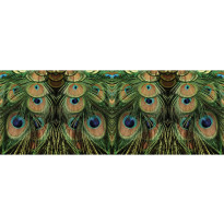 Valokuvatapetti Quattro Peacocks 8-osainen 372x280cm
