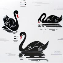 Tapetti Inspired Swan 1220180 0,53x10,05 m valkoinen non-woven