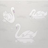 Tapetti Inspired Swan 1220190 0,53x10,05 m beige non-woven