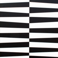 Tapetti Inspired Geo Stripe 1220270 0,53x10,05 m musta/valkoinen non-woven