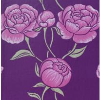 Tapetti Inspired Peony 1220348 0,53x10,05 m violetti non-woven
