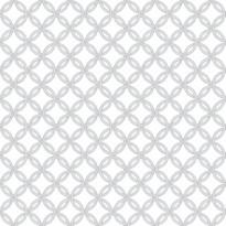 Tapetti Inspired Circle 1220580 0,53x10,05 m valkoinen non-woven