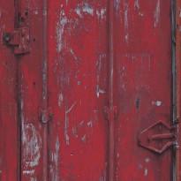 Tapetti AM-Walls Warehouse EW3203 0,53x10,05 m, punainen