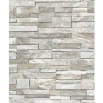 Tapetti Wall of Stones PE08017 0,53x10,05 m harmaa non-woven