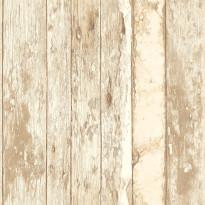 Tapetti Wooden Wall PE10021 0,53x10,05 m ruskea non-woven