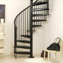 Kierreporras Civik, korkeus 252-305cm, läpimitta 160cm, valkoinen, Tammiston poistotuote