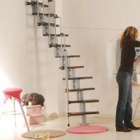 Tilansäästöporras Karina, korkeus 228-282cm, eri värivaihtoehtoja