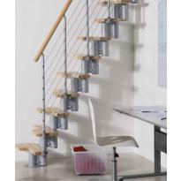 Tilansäästöporras Kya, korkeus 228-282cm, eri värivaihtoehtoja