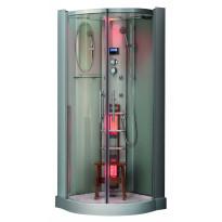 Infrapuna-höyrysauna-suihkukaappi Saunatar Elite 27