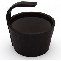 Saunakiulu SAWO Steamwater, 4 l, musta