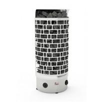 Sähkökiuas SAWO Aries Wall, 6kW, 5-9m³, kiinteä ohjauskeskus