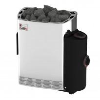 Sähkökiuas SAWO Mini Trendline, 3.6kW, 3-6m³, kiinteä ohjaus, Verkkokaupan poistotuote