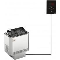 Sähkökiuas SAWO Nordex Ni2, 4.5kW, 3-6m³, erillinen ohjaus