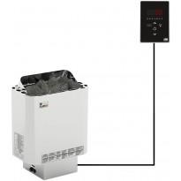 Sähkökiuas SAWO Nordex Ni2, 8kW, 7-13m³, erillinen ohjaus