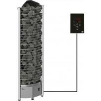 Sähkökiuas SAWO Tower Corner Ni2, 6kW, 5-8m³, erillinen ohjaus