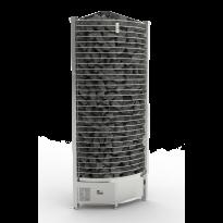 Sähkökiuas Corner Tower, 12kW (11-18m³), erillinen ohjauskeskus