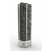 Sähkökiuas SAWO Round Tower, 12kW, 11-18m³, erillinen ohjauskeskus