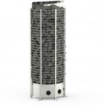 Sähkökiuas Sawo Wall Tower, 8 kW, 7-13 m³, kiinteä ohjauskeskus