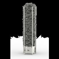 Sähkökiuas Round Tower, 9kW (8-15m³), erillinen ohjauskeskus