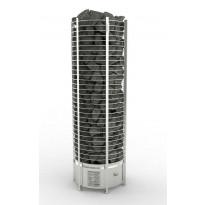 Sähkökiuas SAWO Round Tower, 18kW, 18-30m³, erillinen ohjauskeskus