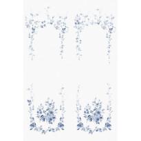 Marieberg valkoinen/sininen 647-04