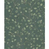 Tapetti Sandberg Hassel tumman vihreä/ruskea 0,53x10,05 m, non-woven