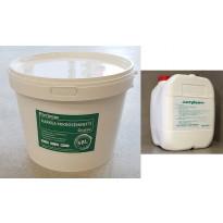 Karkea mikrosementti SBL Grueso, Gris tumma 6 kg + Acrylcem-nesteosa 3l